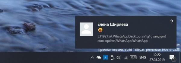 Технологии: WhatsApp тестирует нативные уведомления для Windows 10