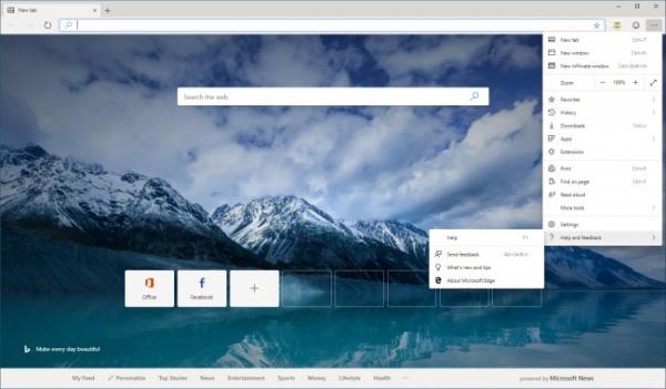 Технологии: Microsoft начала открытое тестирование нового поколения Edge