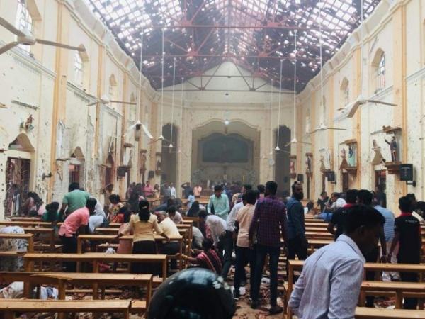Терроризм: Шесть взрывов на Шри-Ланке: более 40 человек погибли, около 300 ранено