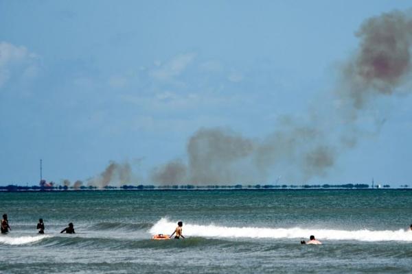 Происшествия: Космический корабль компании SpaceX Crew Dragon взорвался при наземном испытании системы аварийного спасения