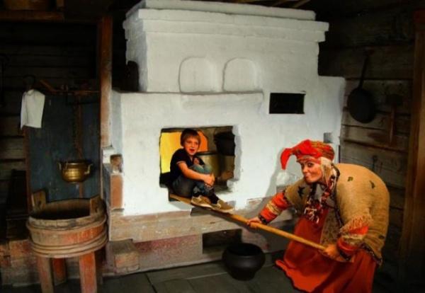 Интересное: Зачем Баба-Яга сажала детей в печь
