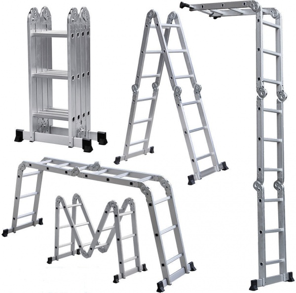 Интересное: Лестница и стремянка - в чем разница?