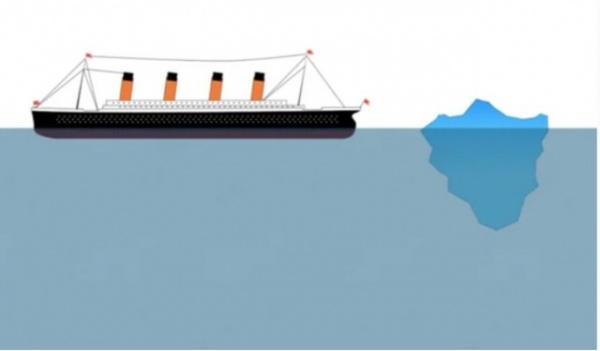 Интересное: Айсберг — убийца «Титаника»