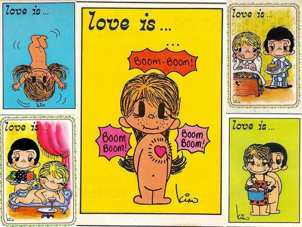 Интересное: История создания «Love is…»
