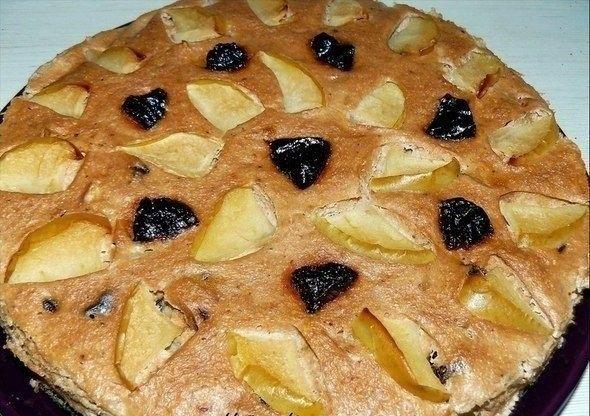 Полезные советы: Творожная шоколадная запеканка с яблоком и черносливом