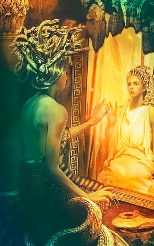 Интересное: Как Медуза стала Горгоной