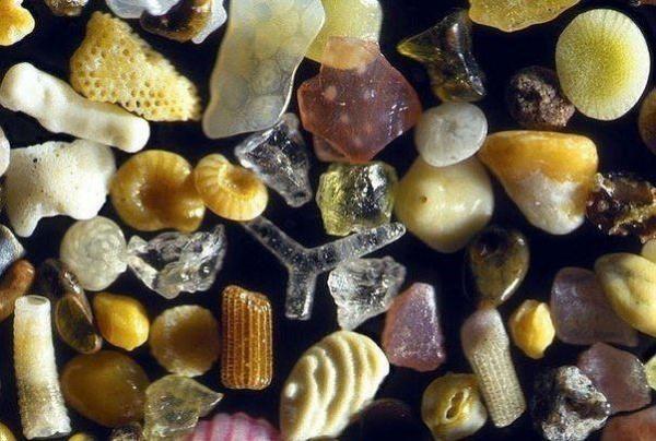 Природа: Песок под микроскопом