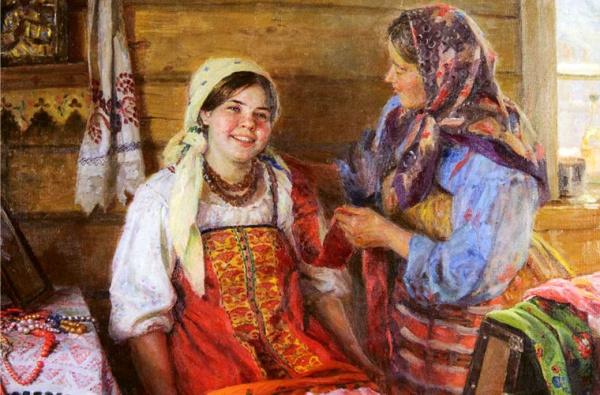 История: Правила семейной жизни на Руси