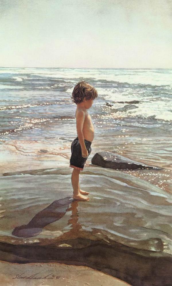 Картинки: Стив Хэнкс - художник-акварелист