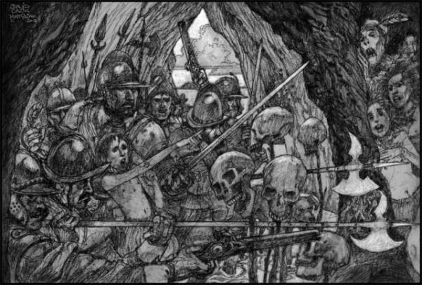 Криминал: И у пещер есть глаза... Легенда о клане людоедов из Баллантрэ