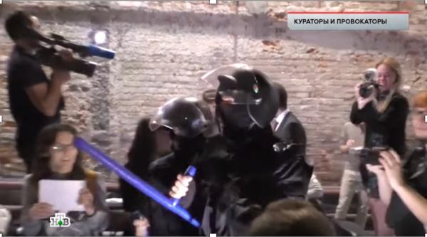 Либерасты провели в Центре Сахарова курсы пушечного мяса для незаконных митингов