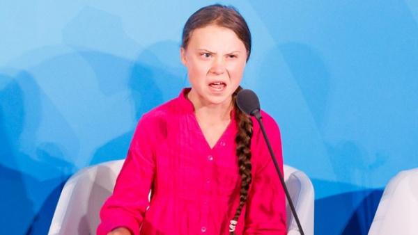 Политика: Как вот эта вот бесноватая девочка проникла на саммит ООН?