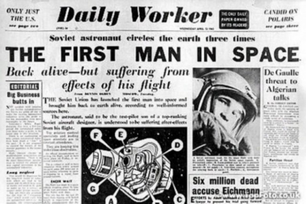 Общество: Почему американцы не считают Гагарина первым космонавтом