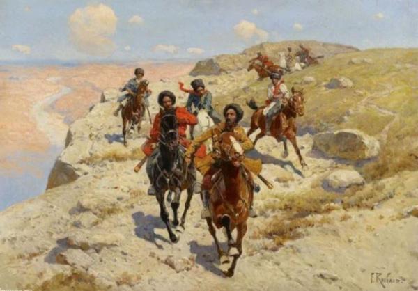 История: Яшка Алпатов - терский казак, любимчик имама Шамиля