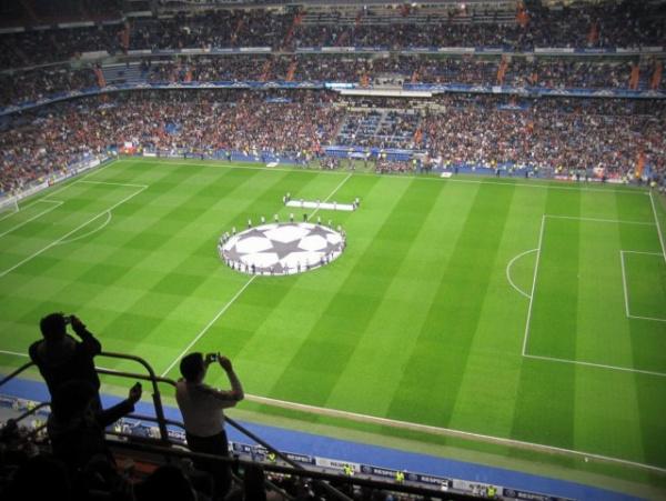 Интересное: Почему футбольное поле полосатое?