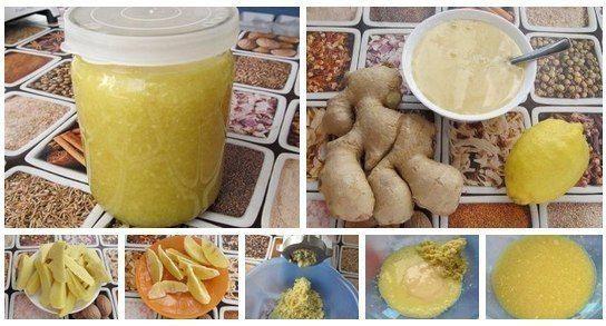 Полезные советы: Имбирь с лимоном и медом
