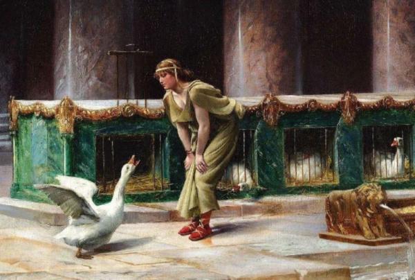 История: Как гуси спасли Рим