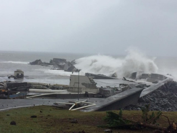 Природа: Ураган Лорензо прошел Азорские острова