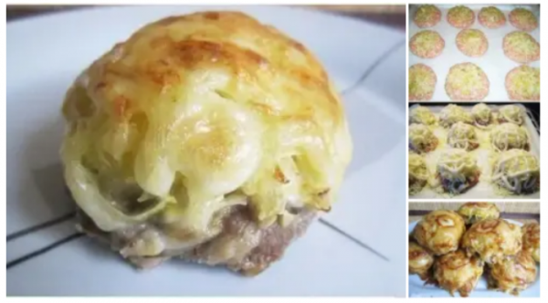 Полезные советы: Мясные стожки с сыром
