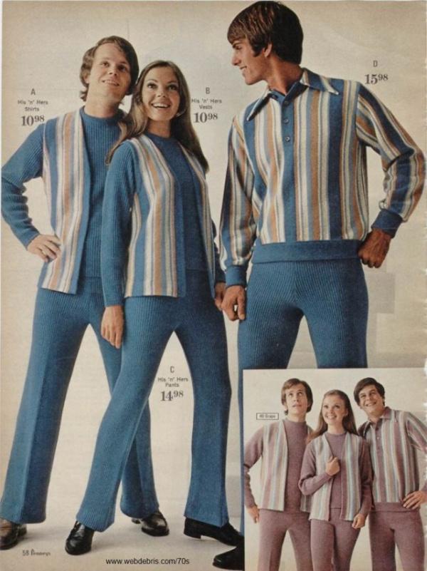 Интересное: Мода семидесятых