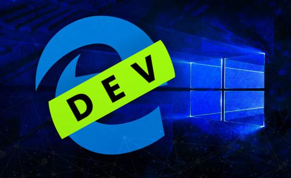 Технологии: Новая сборка Microsoft Edge Dev 79.0.294.1