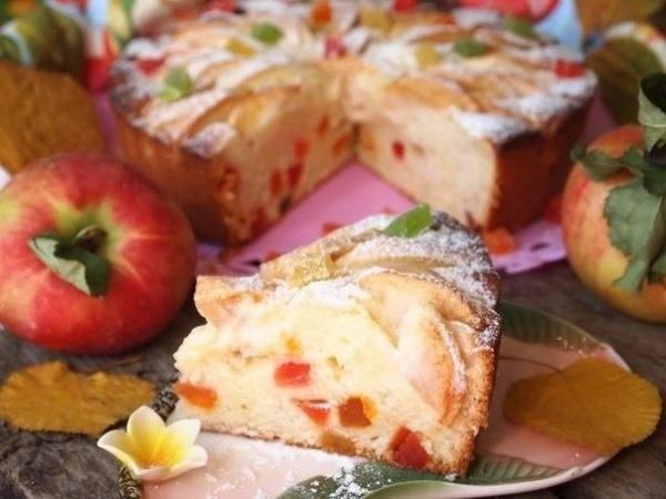Полезные советы: Творожно-яблочный пирог *Краски осени*