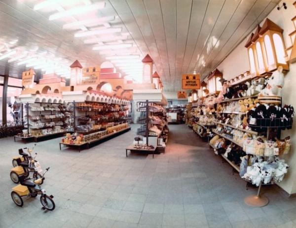 Прибалтика: Магазин игрушек Tipa-Tapa, Таллин, Эстония, 1980-е годы