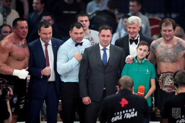Спорт: Бой Емельяненко и Кокляева (избиение младенцев)