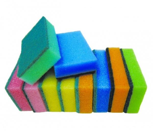 Полезные советы: Почему губки для мытья посуды разноцветные?