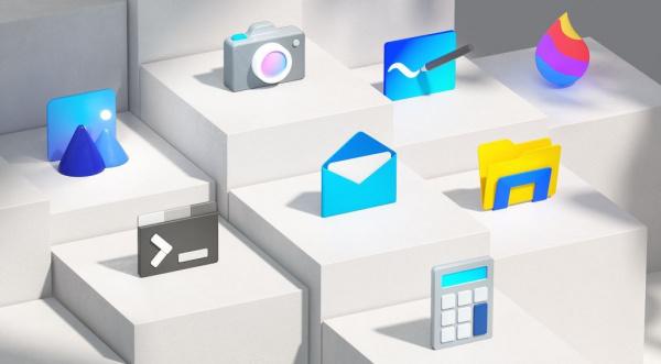 Технологии: Microsoft представила новые иконки в стиле Fluent Design
