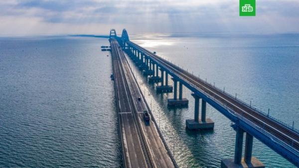 Новости: Завершено строительство железнодорожной части Крымского моста