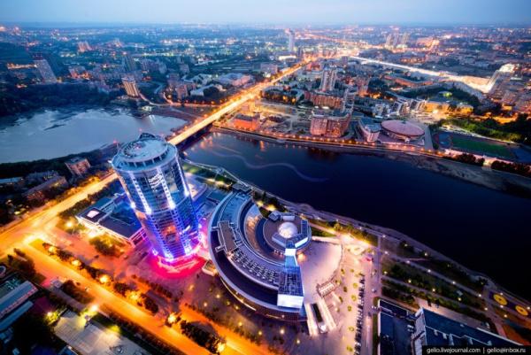 Интересное: Сверхчеткий снимок Екатеринбурга с высоты птичьего полета