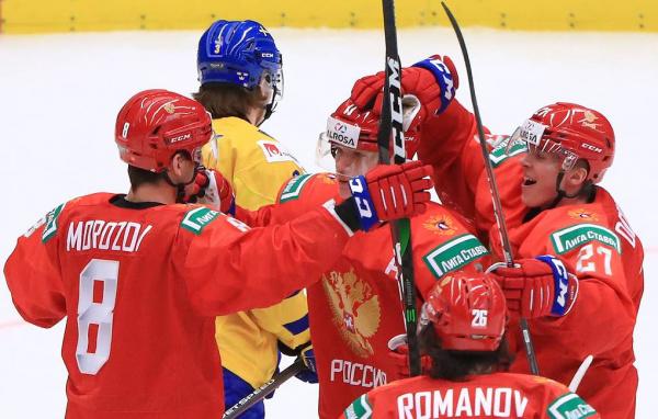 Спорт: Сборная России по хоккею вышла в финал!!!