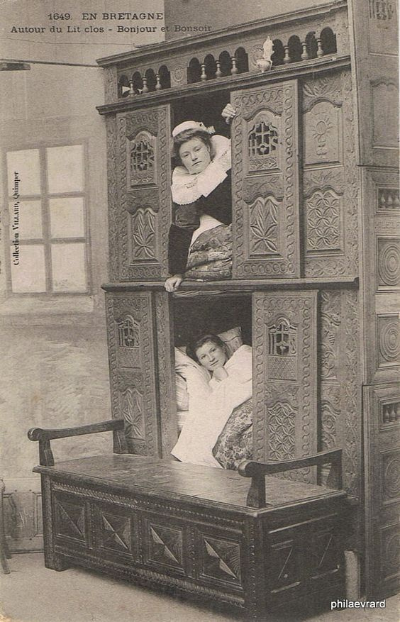 Интересное: Откуда пошли капсюльные отели:-) Спальни для горничных в Англии
