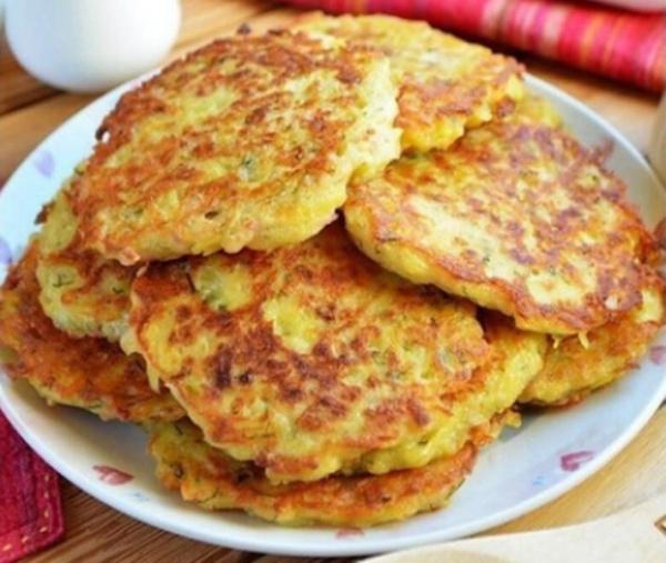 Полезные советы: Драники с ветчиной, сыром и зеленью