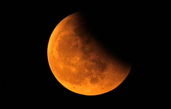 Интересное: В ночь на 11 января произойдет лунное затмение