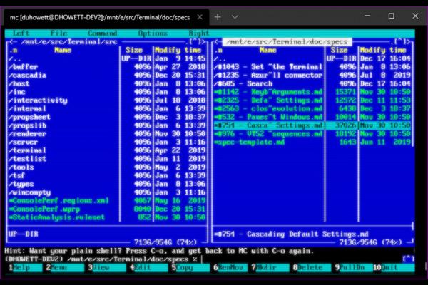 Технологии: Microsoft готовит Windows Terminal 0.8
