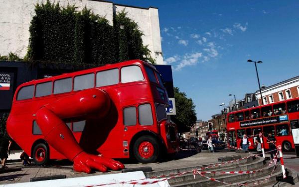Интересное: Необычные автобусы