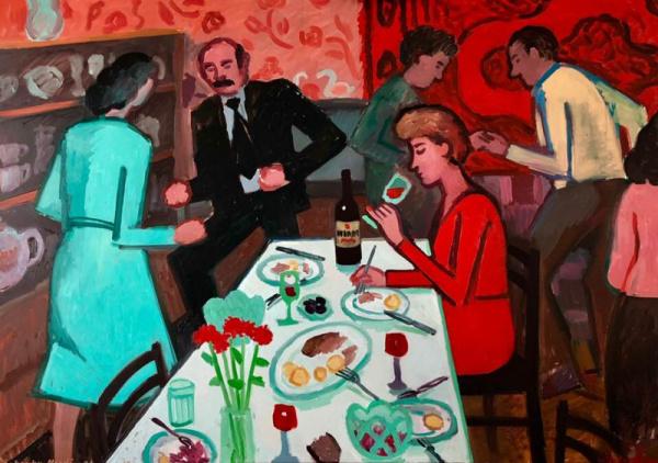 Картинки: Советское детство в работах Зои Черкасской