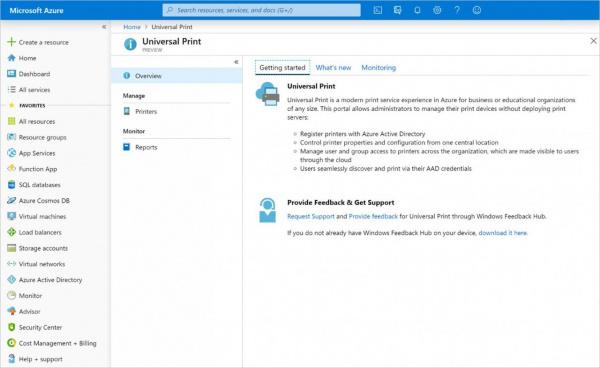 Технологии: Началось закрытое тестирование облачной функции Microsoft Universal Print
