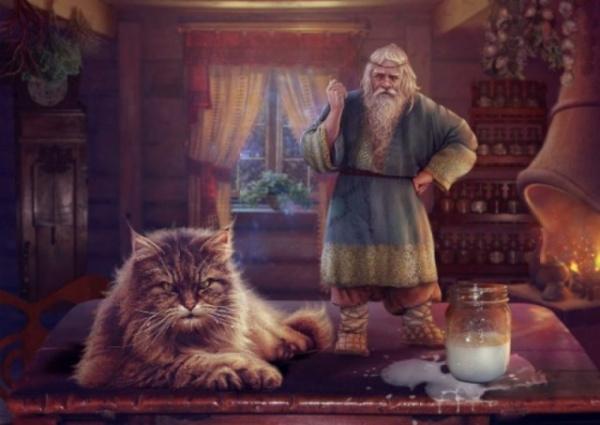 Интересное: Кто такой Кот Баюн