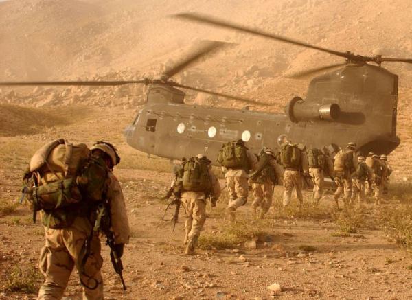 Война: Операция *Анаконда* - бои в долине Шахикот и за гору Такур Гар