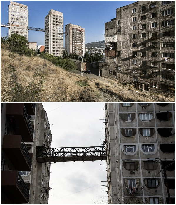 Интересное: Воздушные мосты сквозь панельные многоэтажки