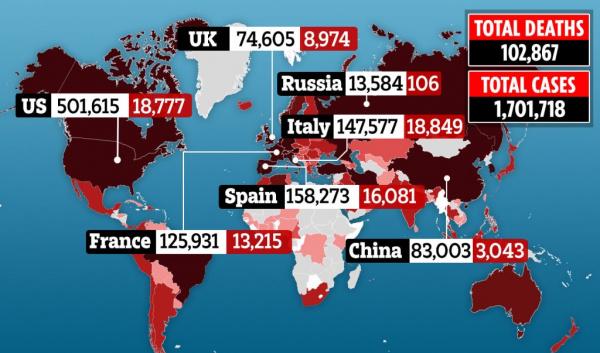 Коронавирус: Реальная коронаситуация в Британии