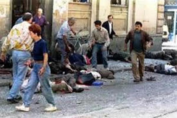 Война: Взрывы на рынке Маркале в Сараево как повод для начала операции НАТО против сербов