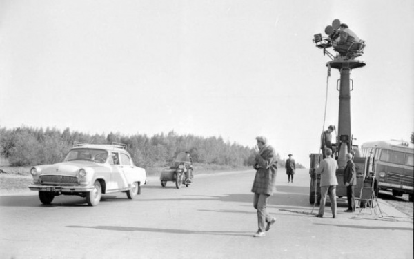 Интересное: Как снимали трюки в Берегись автомобиля