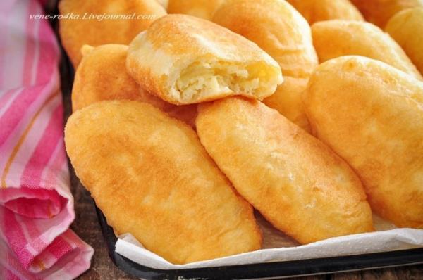Кухня: Пирожки с картошкой жареные