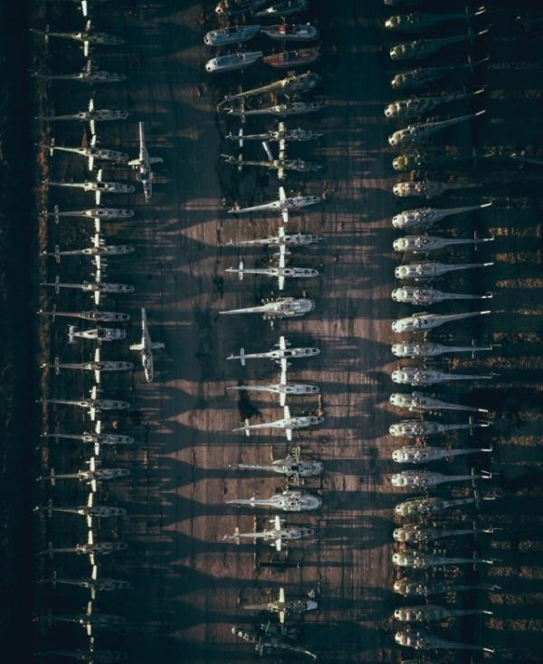 Интересное: Кладбище военных вертолётов под Петербургом (поселок Горелово, Ломоносовский район)