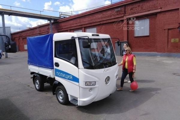 Интересное: Начались продажи российского электрогрузовика *Муравей*