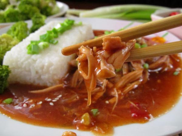 Кухня: Медовая курочка по-китайски